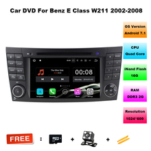 Android 7.11 Car Audio FOR MERCEDES-BENZ E-CLASS W211 car dvd gps player multimedia navigation head unit device BT WIFI 3G