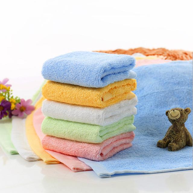 Bamboo Fiber Soft Antibacterial Small Towel