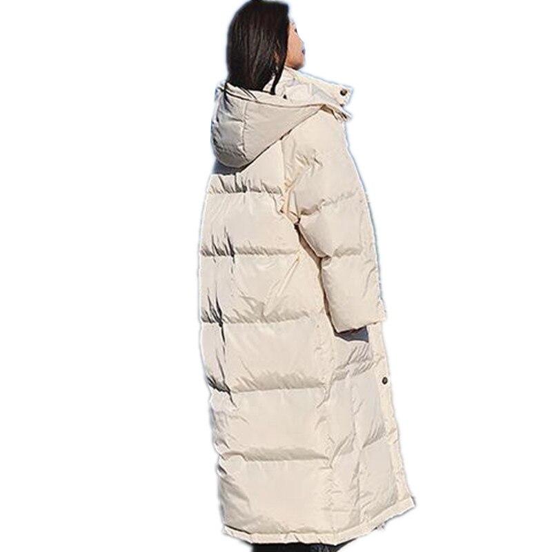 JQNZHNL 2019 New Winter Coats Women Medum long Loose Cotton Jacket Coat Parkas Solid Color Casual