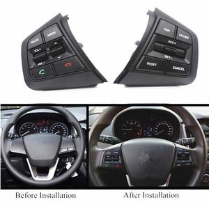 Image 4 - PUFEITE Für Hyundai ix25 (creta) 1,6 L 2,0 L Lenkrad Tempomat Tasten Remote Volumen taste schalter auto zubehör