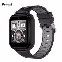 Высокое качество Pewant 4 г WI FI Смарт часы IP67 Водонепроницаемый MTK6737 Smartwatch 1,54 TFT Экран наручные Поддержка gps sim карты