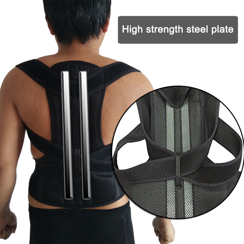 Adjustable Posture Corset for Men Lumbar Support Belt Strap Men's Back Back Corset Brace Belt HEALTH CARE Orthopedic Pain Relief 3