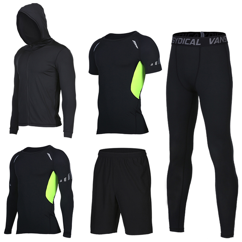 Men s Sportswear Tracksuit Sports Compression Sportswear Suits Training Running Workout Jogging Sports Sets Tracksuit for