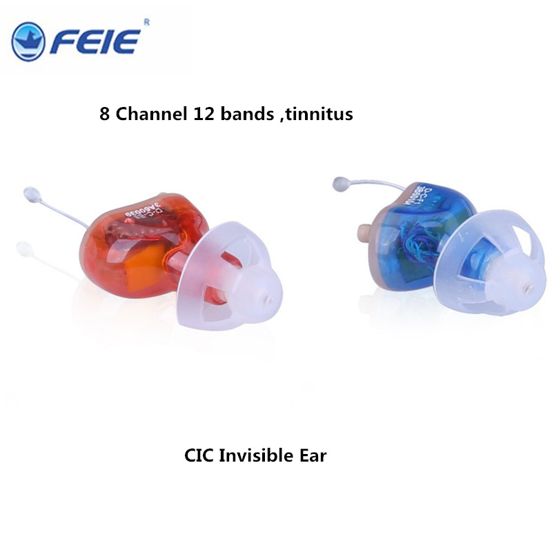 Medico Aids 8 Channels Invisible Ear Hearing Aides Listen Up Programmable with Tinnitus Hearing instrument S-17A Drop Shipping programmable digital 6 channels ric reaceiver in the ear canal hearing aids with battery 312 my 19
