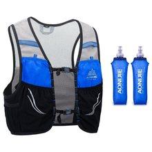 Aonijie c932 2.5l leve hidratação colete ultraleve trail running mochila saco de esportes ao ar livre ciclismo caminhadas maratona pacote