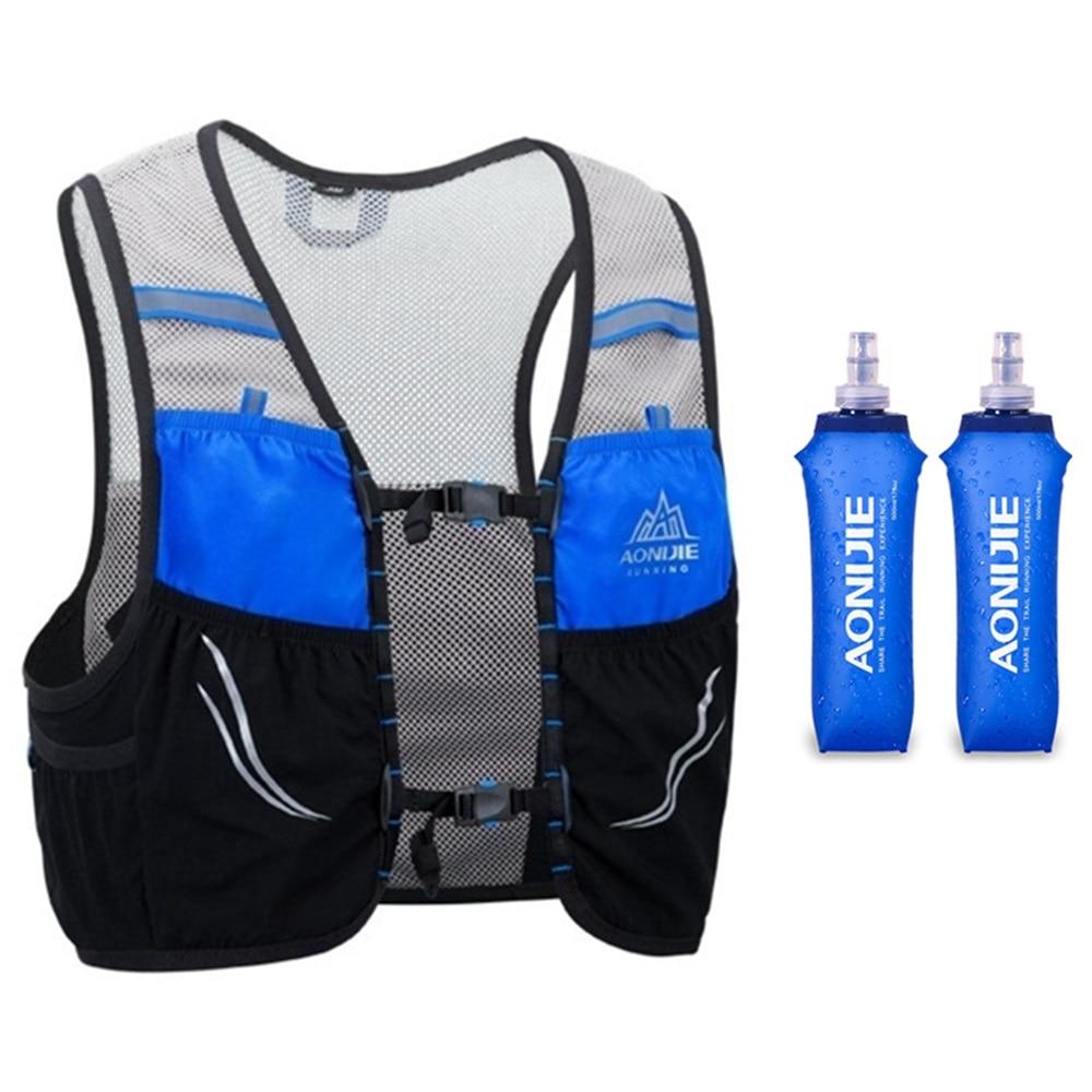 Aonijie c932 2.5l leve hidratação mochila trail running vest ultraleve saco de desporto ao ar livre ciclismo caminhadas maratona saco