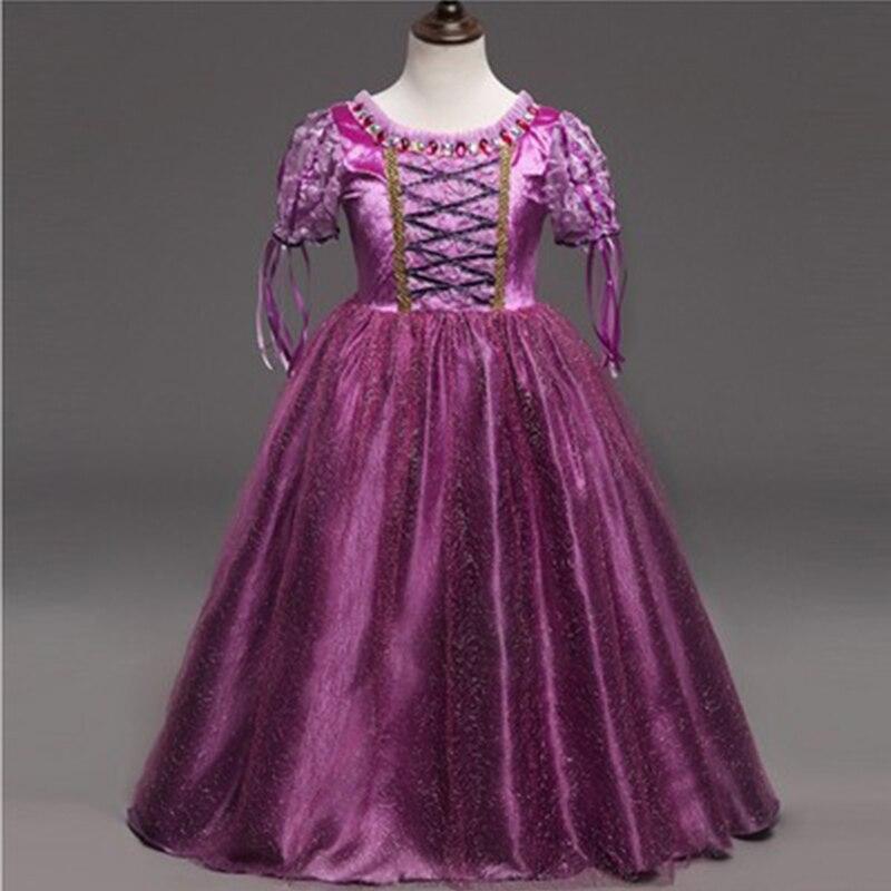 2019 на лето и весну София Косплэй вечерние Пасха карнавал платье для девочек Для детей цветочный Хэллоуин нарядное платье-пачка up Фэнтези