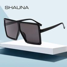 SHAUNA Oversize Flat Top Women Square Sunglasses Br