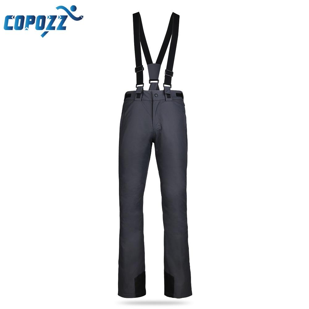 COPOZZ Ski Pants Professional Winter Snowboard Pants Women And Men Outdoor Sports Pantalon Ski Femme Hiking Camping Trousers