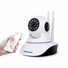 iHaven Smart Home Security Wifi Camera 720P HD Cloud Storage P2P IR Night Vision Network IP Surveillance Camera Wi-fi Wireless