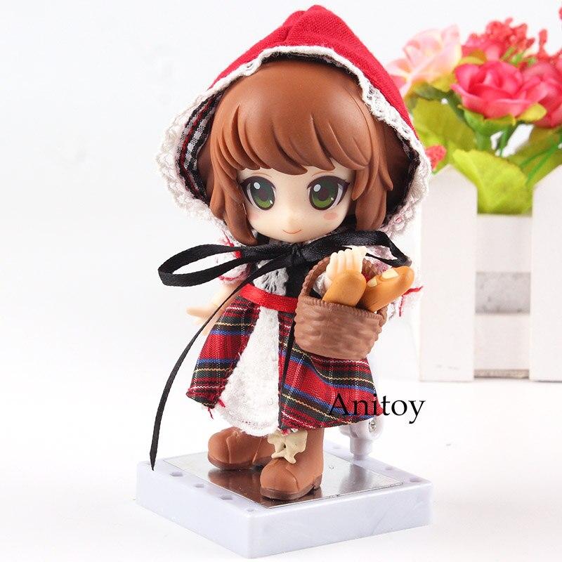 Kotobukiya Cu-poche amis petit chaperon rouge avec de vrais vêtements en tissu PVC conte de fées Anime figurine jouets pour enfants