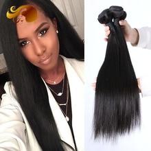 Unprocessed Brazilian Virgin Hair Natural Mink Brazilian Straight Grade 8A 4Pcs/lot Brazilian Hair Weave Human Hair Bundles