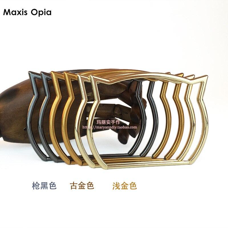 Sexy Cat Women Handbag Handle DIY Obag Accessories Metal Purse Handle Frame China On Line Shop Factory Supplier Metal Handles