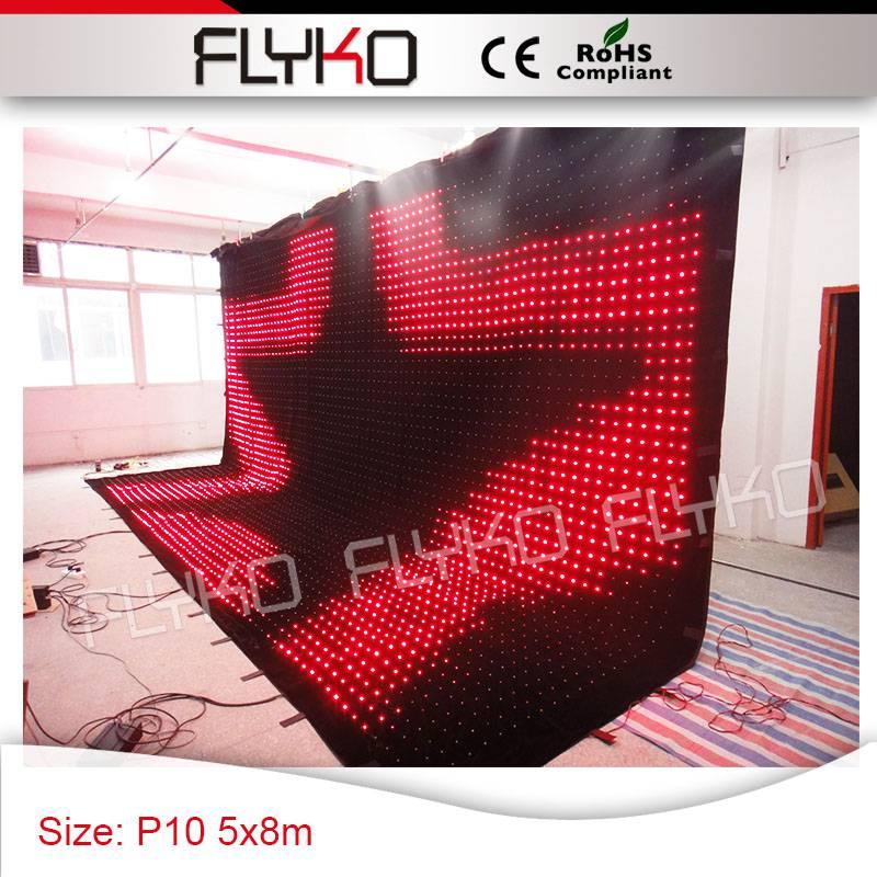 Luci Da Discoteca Fai Da Te.Full Hd Proiettore Led Wall Controller Pc P100mm Luci Da Discoteca