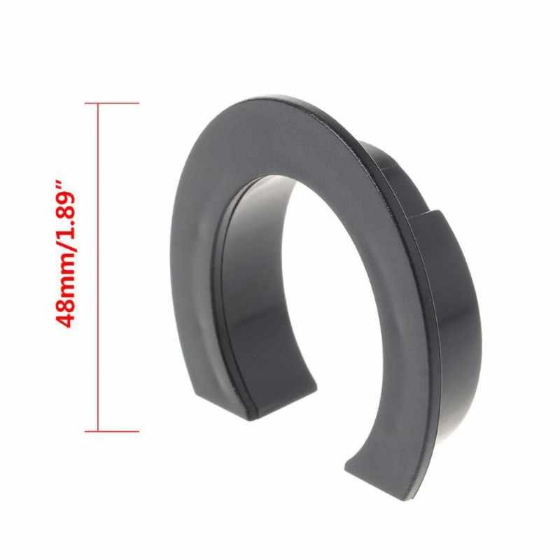 Fondo círculo curvado guardia anillo plegable hebilla Base Durable práctico para Xiaomi M365 Scooter Eléctrico repuestos e scooter