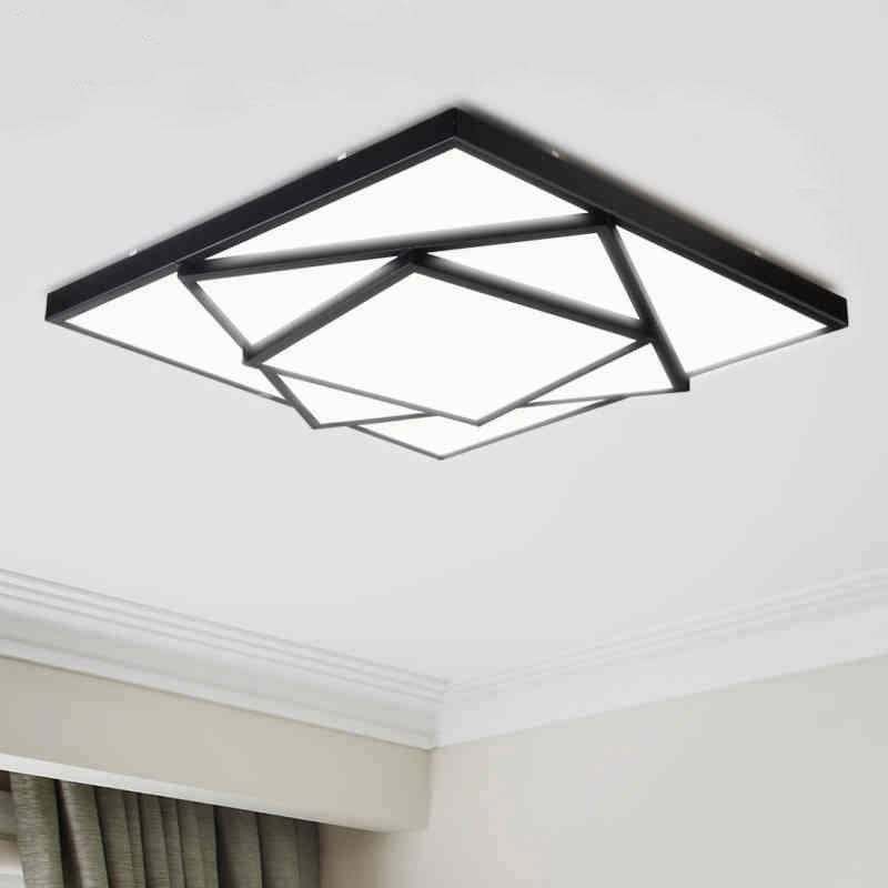 Hot free shipping modern led ceiling lights for living room bedroom abajur dimmable+remote control lamparas de techo автоматический выключатель tdm ва47 100 2р 63а 10ка d sq0207 0020