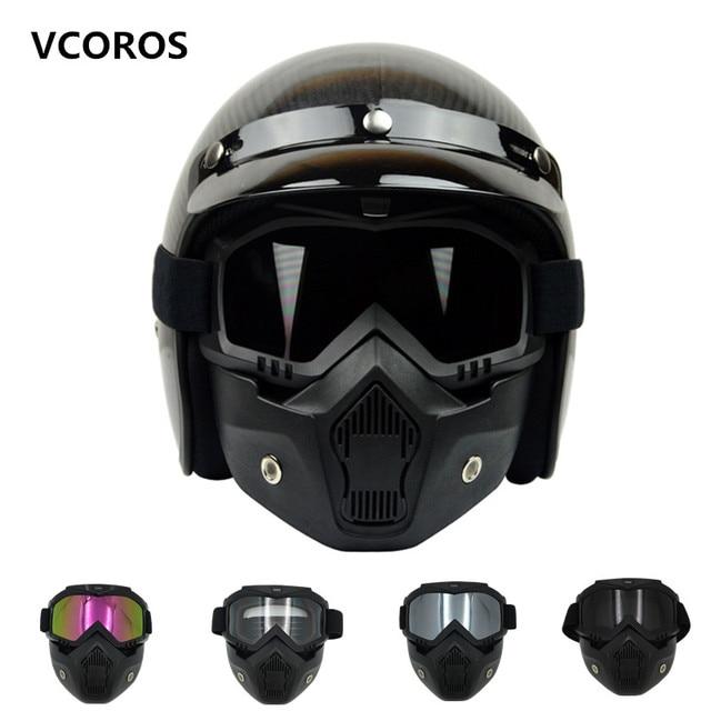 85911e3421a49 Nova VCOROS Modular Máscara Destacável Óculos E Boca máscara de Coslplay  Filtro Perfeito para o Rosto