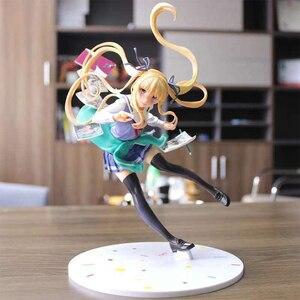 Image 5 - Японское аниме Saenai Heroine No Sodatekata Eriri Спенсер Sawamura Book Ver. Фигура аниме из ПВХ, Игрушечная модель, подарок