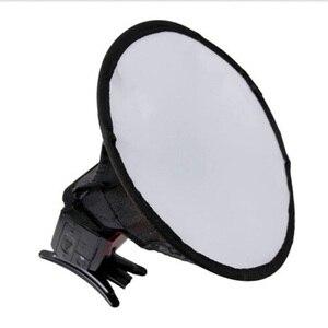 Image 3 - Foleto ضوء فلاش الناشر لينة لينة صندوق سرعة ضوء ملحقات الكاميرا لكانون نيكون yongnuo Godox speedlite 580ex sb600 sb800