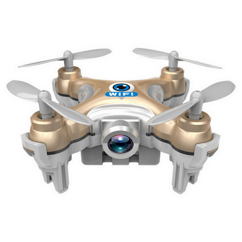 Mini CX10W Wifi 2 4GHz Helicopter FPV Camera 6 Axis RC Quadcopter 4CH LED Drone Toy