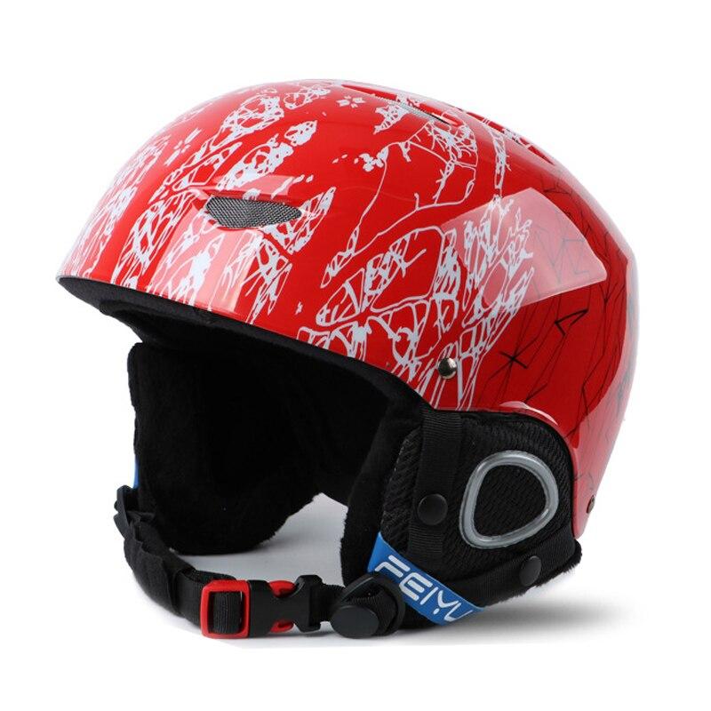 Ski Helmet Kids Winter Safety Snow Helmet Child Skateboard Skiing Snowboard Helmet 47 56 CM