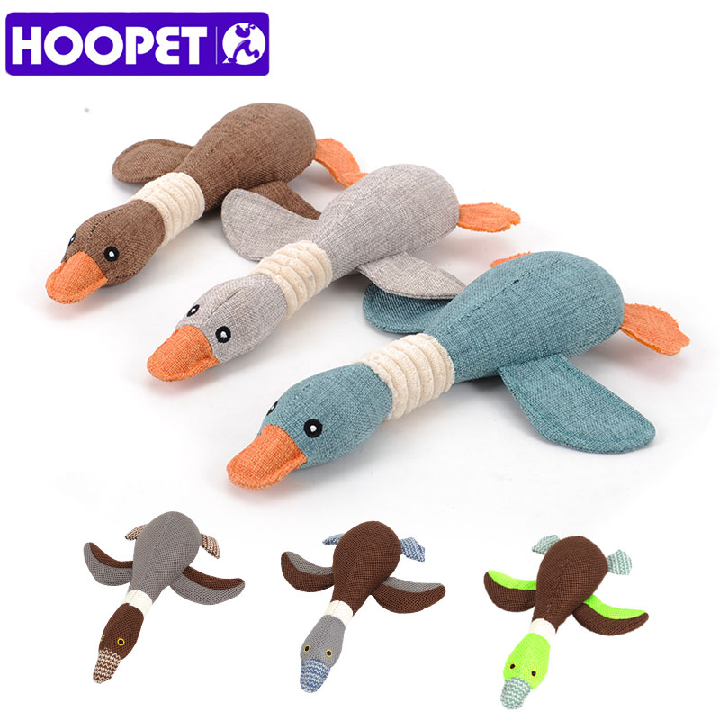 HOOPET Pet Dog Dayan Sound Toys Solid Resistance To Bite Playable High Quality Blue Gray Brown Funny Pet Toy