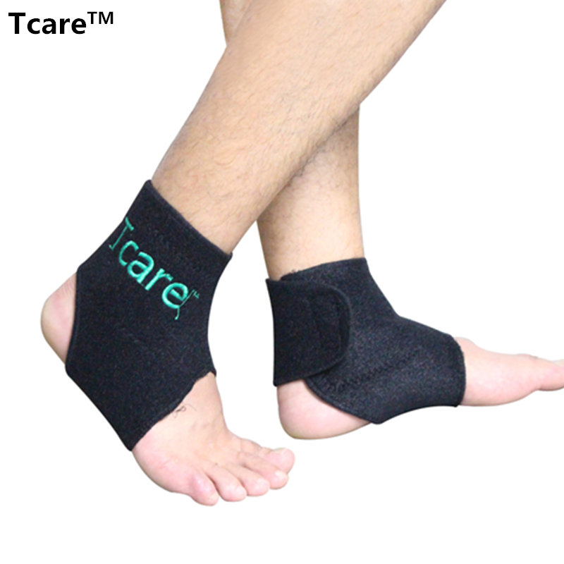 1 Pair New Hot Self-heating Tourmaline Ankle Brace Support Magnetic Therapy Ankle Massager Tourmalin Belt Health Care Products