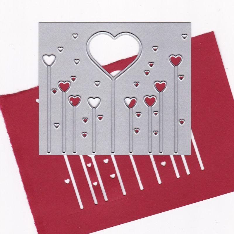 Love Magic Wand Metal Cutting Dies Stencil DIY Scrapbooking Album Stamp Paper Card Embossing Crafts Decor