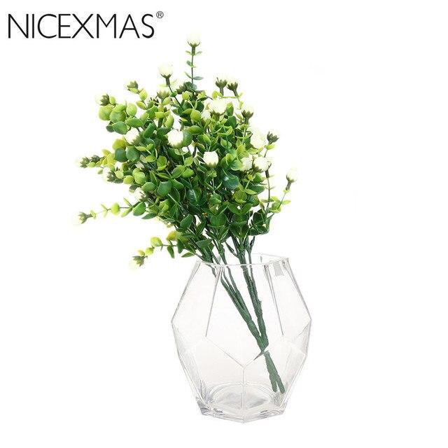 Diy Sztuczne Eukaliptusa Roślin Kwiaty Home Decor Dekoracje ślubne