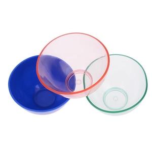 Image 4 - 1 Stuks Nieuwe Dental Rubber Kom Plastic Lab Silicon Bowl Voor Mondhygiëne Tool Tandarts Dental Medische Apparatuur Rubber Kom 3 Kleuren