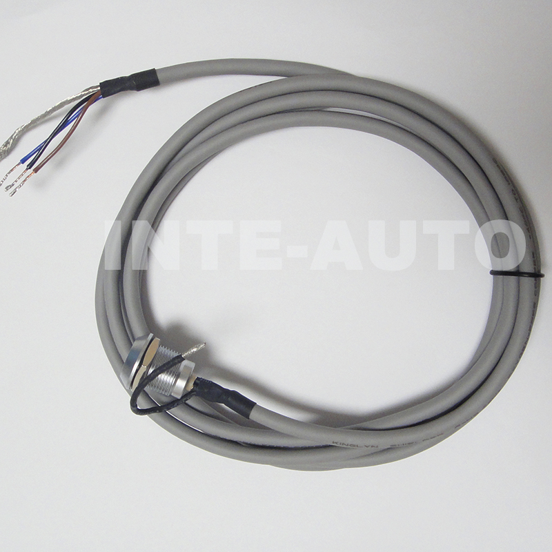 3 pins circular wire cable connector and 2M cable,Equivalent LEMOs ...