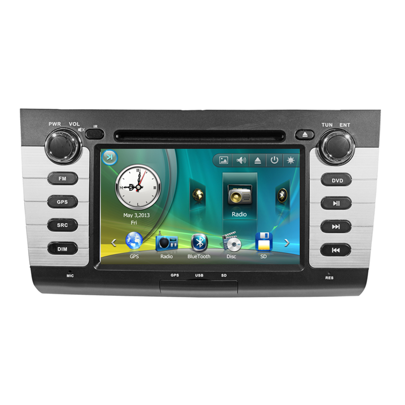 7 car stereo audio head unit headunit autoradio for suzuki swift 2004 2005 2006 2007 2008 2009. Black Bedroom Furniture Sets. Home Design Ideas