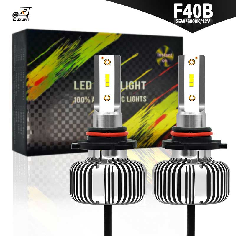 2PCS H7 H4 LED H1 H9 H8 H11 Bulb 60W Headlights Auto Lamp With Fan Car COB Light 6000K White 12V Automobile LED lamp in Car Headlight Bulbs LED from Automobiles Motorcycles