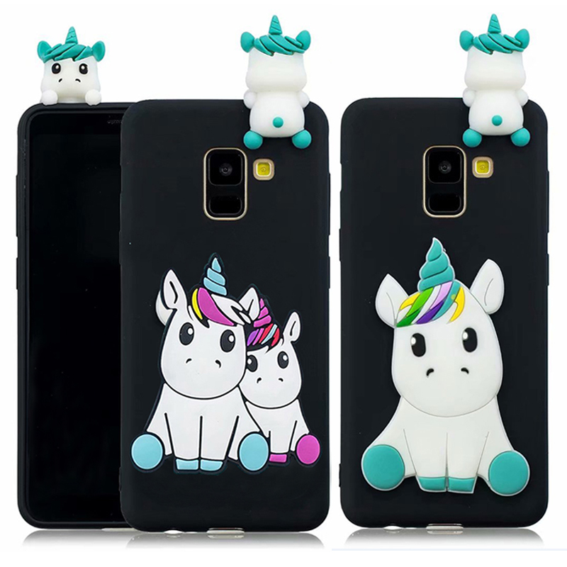 Soft TPU Case For <font><b>Alcatel</b></font> 5V 7 <font><b>5</b></font> /<font><b>5086Y</b></font>/5086D 3C/3C Dual/5026D X 1C 3 3X 3V Case 3D Silicon Candy Cute Cartoon Back Cover image