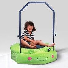 Techsport мини-батут детский батут с поручнями для развлечений в помещении Макс. Belastung: 100 кг