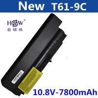 HSW 7800mAH Battery for IBM lenovo ThinkPad R400 T400 R61 T61 T400 R61i 42T4533 42T5265 42T4530 42T4532 42T4548 42T4645 42T5262