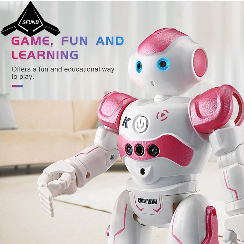Robot rc Programmation Intelligente télécommande jouet robot Bipède robot humanoïde Pour Enfants cadeau d'anniversaire pour enfants robot chien pet