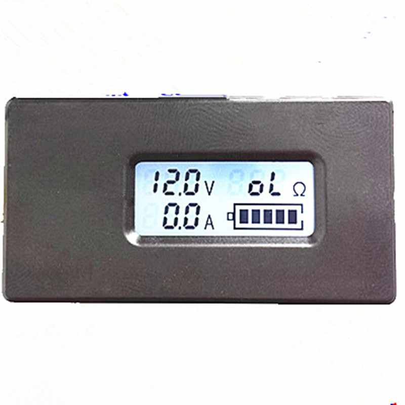 PEACEFAIR DC 2.8-30V 0-10A LCD Display Digital Lithium Battery Voltage Current Meter Electric Quantity Discharge Resistant