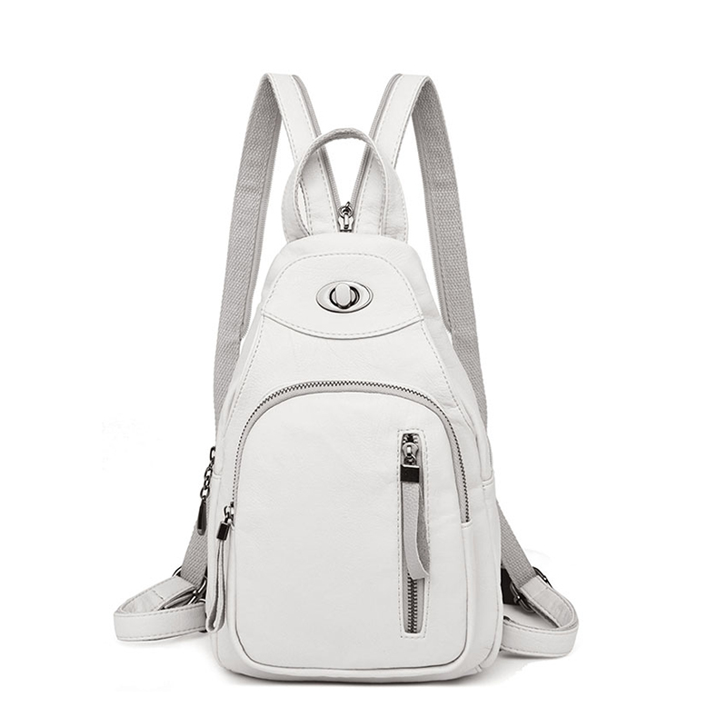 High Quality Backpack Female Korean New Fashion Personality Multifunctional Small Backpack Leisure Travel Backpack