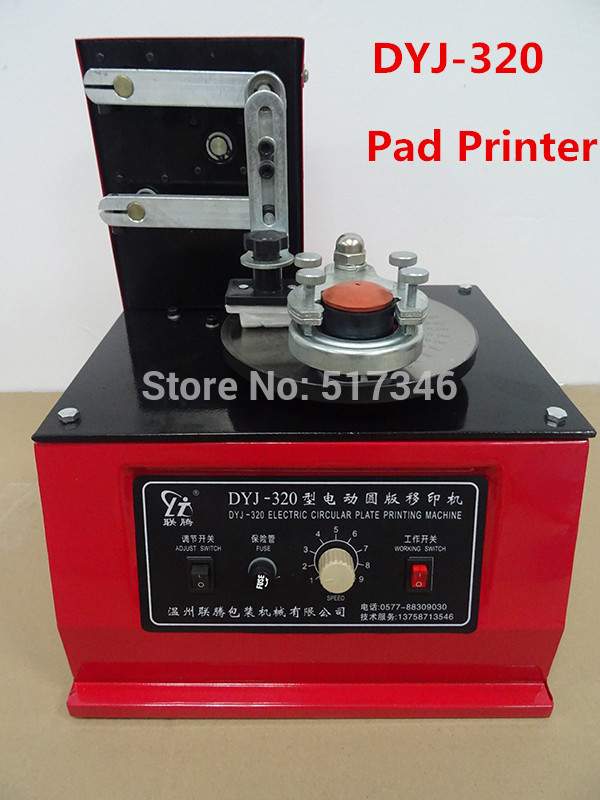 DYJ-320 Electric Code Marking Machine Electric Circular Plate Printing Machine Ink Marking Machine Print Production Date Ect