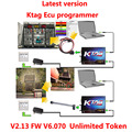 Get ECM TITANIUM V1.61 KTAG V6.070 KTAG 2.13 NEW K-TAG V2.13 Unlimited Version Top Quality K TAG Master ECU Programming Tool