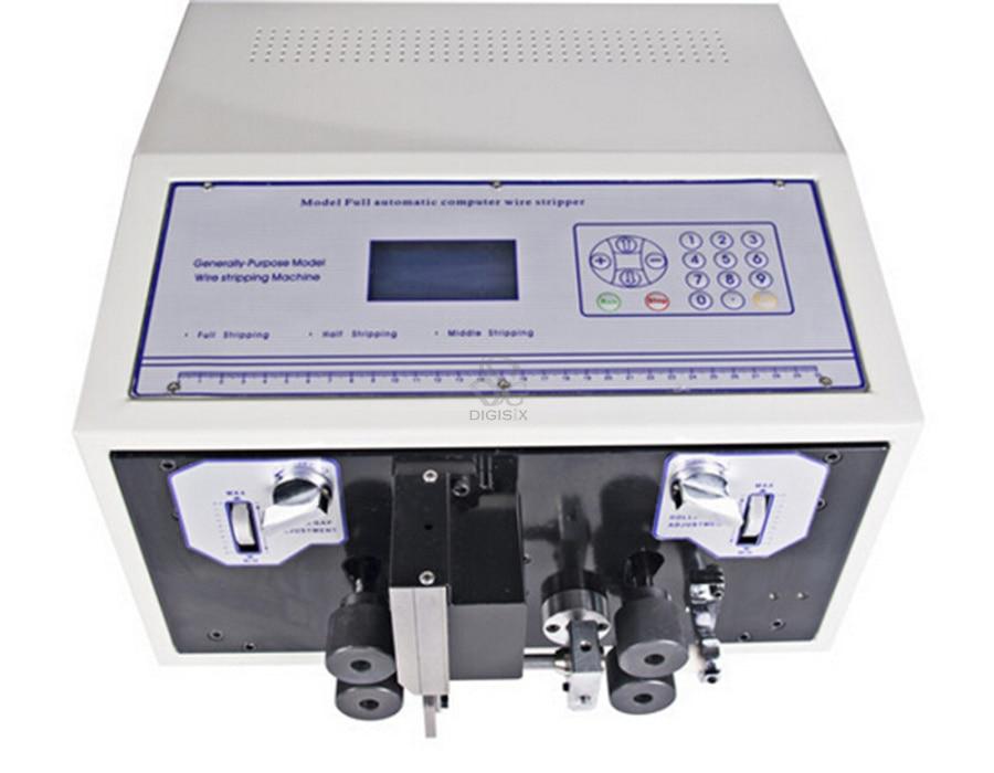 SWT508-JE Épais Type de ligne Informatique Fil De Coupe Machine À Éplucher