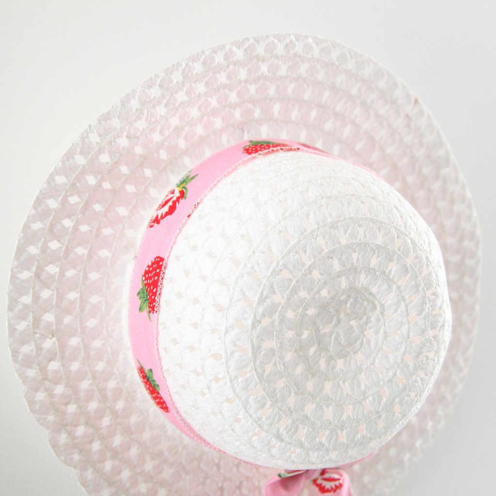 Платья для маленьких девочек, летние платья принцессы с фруктами и шляпой, повседневные комплекты одежды, Sukienka Niemowleca, платье для новорожденных