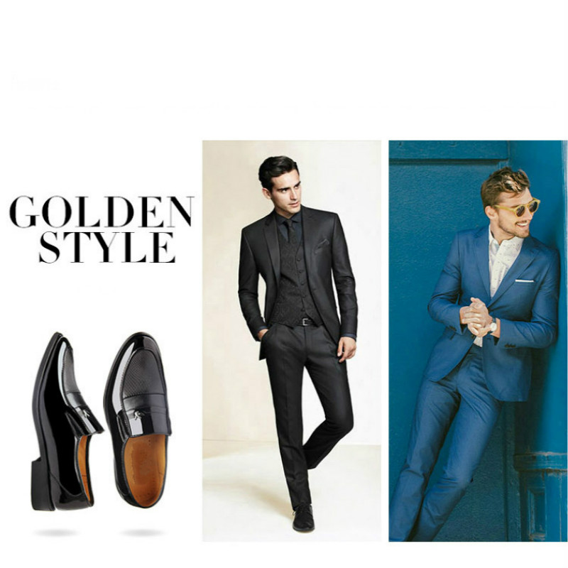 Escritório 2017 Xuan Homens Os Couro Novo Marca Sapatos Homem Estilo Para Da De Black Negócios Se Oxfod Phliy Vestem Moda 5vAgxwqpg