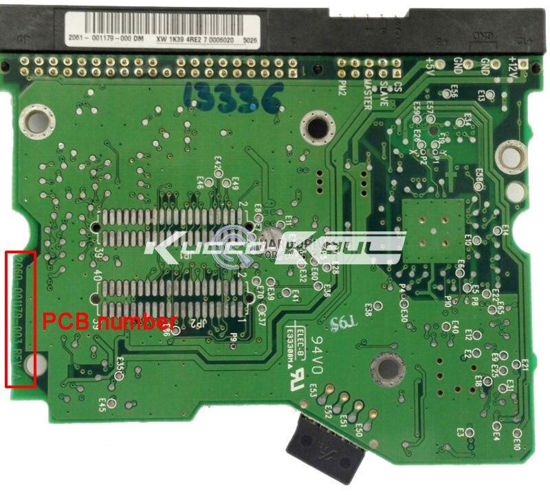 WD HDD PCB Logic Board 2060 001179 003 REV A For 3 5 IDE PATA Hard