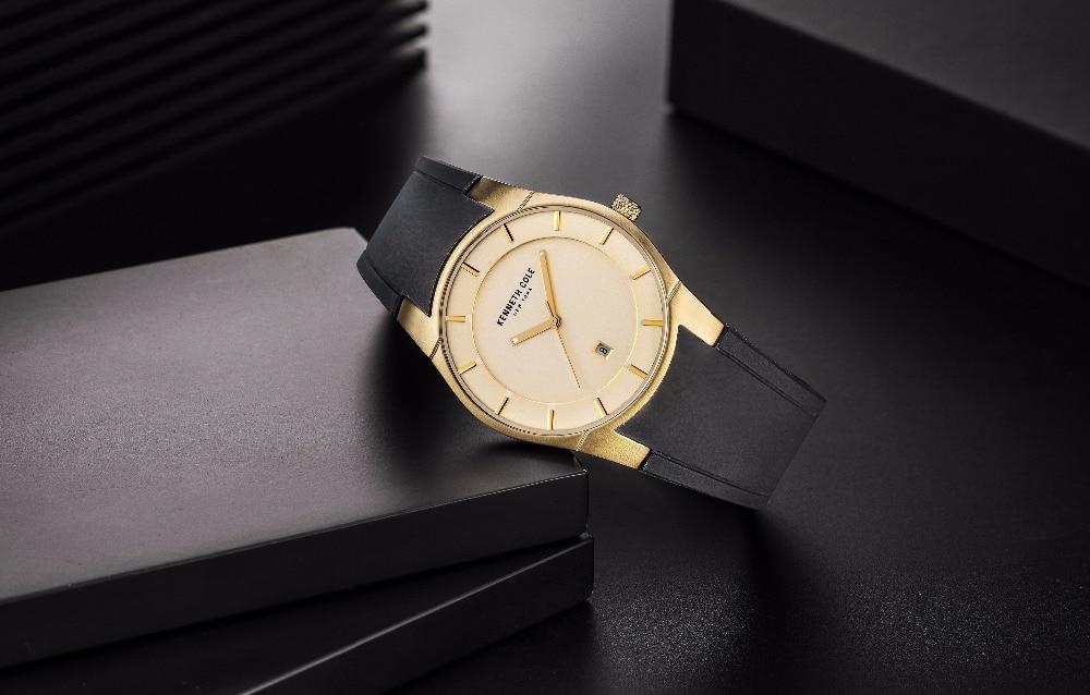 d87ef2b86f0 Kenneth Cole Originais Mens Relógios KC10027722 Silicone Cinta ...