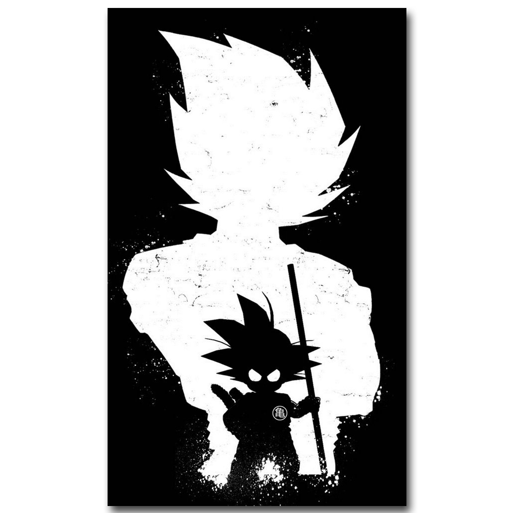 Dragon Ball Z Art Silk Fabric Poster Print 13x22 24x40inch