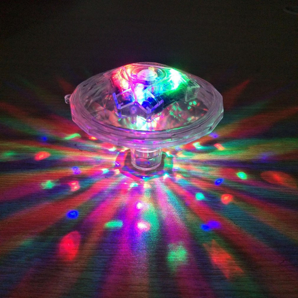 LED Baby Bath Light Colorful Water Floating Lamp Swimming Pool Underwater Light Special Diamond Appearance Bath Toy
