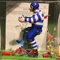 Modelos de metal de hierro antiguo estaño juguetes terminan juguetes robots para niños/adultos decoración del hogar artesanía mm2006 fútbol gota kick