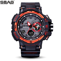 SBAO New Arrival Creative High End Electronic Watches Student Watches Waterproof Boys Sports Multi Function Electronic